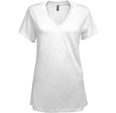 District Made Ladies Perfect Tri-Blend V-Neck Tee